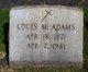 Louis M Adams