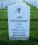 Profile photo: Sgt Abe Creekmore