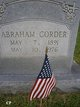 "Profile photo:  Abraham A ""Abra"" Corder"