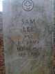 Profile photo: Pvt Sam Lee