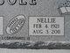 Nellie <I>Feddes</I> Cole