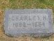 "Charles H ""Charley"" Bartley"