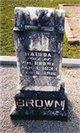 Matilda Elizabeth <I>Giles</I> Brown