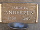 Profile photo:  Randy M Andersen