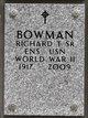 Profile photo:  Richard T Bowman, Sr
