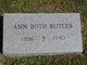 Profile photo:  Ann <I>Roth</I> Butler