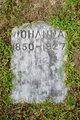 Johanna <I>Back</I> Johnson