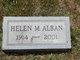 Profile photo:  Helen M Alban