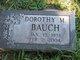 Profile photo:  Dorothy M. Bauch