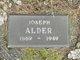 Profile photo:  Joseph Alder