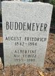 "Profile photo:  August Friedrich ""Fred"" Buddemeyer"