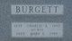 "Charles Addison ""Charlie"" Burgett"