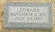 Profile photo:  Leonard Everett Trickett