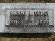 "Elizabeth A ""Bessie"" <I>Livingston</I> Mann"