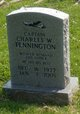 Profile photo: Capt Charles W Pennington