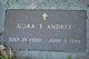 Cora Serina <I>Stout</I> Andree