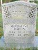 Magdalene Gray Marion