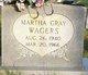 Martha Gray Wagers