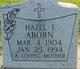 Hazel I. Aborn