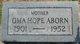 Oma Hope <I>Goldman</I> Aborn