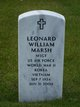 "Leonard William ""Bill"" Marsh"