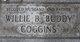 "Willie B ""Buddy"" Coggins"