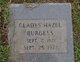 Profile photo:  Gladys Hazel Burgess
