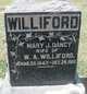 Mary Jane <I>Dancy</I> Williford