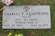 Profile photo:  Charles Pleas Armstrong