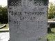 Julia <I>Thompson</I> Lanham