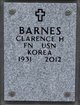 Profile photo:  Clarence H Barnes