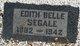 Edith Belle <I>Avery</I> Segale