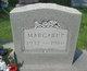 Margaret <I>Fischer</I> Anderson