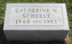 Profile photo:  Catherine M <I>Allen</I> Scheele
