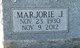 Marjorie J. <I>Kahle</I> Bishop