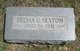Sylva C. Sexton