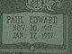 Paul Edward Bolden