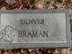 Profile photo:  Denver Braman