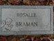 Profile photo:  Rosalee Braman