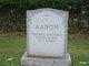 Profile photo:  Thomas Richard Aaron