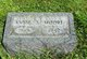 Annie S. <I>Owens</I> Moore