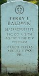 PFC Terry Lyman Baldwin