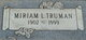 Miriam L <I>Wise</I> Truman