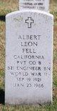 Profile photo:  Albert Leon Fell
