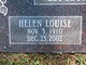 Helen Louise <I>Scott</I> Harrington