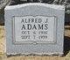 Alfred J Adams