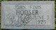 Profile photo:  John Finis Hooser