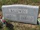 Elizabeth Ann <I>Evans</I> Baldwin