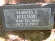 Frances Emily <I>Williamson</I> Hilliard