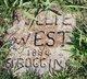 Nellie <I>West</I> Scroggins